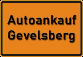 Autoankauf Gevelsberg