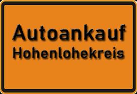 Autoankauf Hohenlohekreis