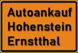 Autoankauf Hohenstein-Ernstthal