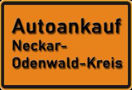 Autoankauf Neckar-Odenwald-Kreis