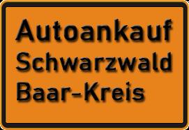 Autoankauf Schwarzwald-Baar-Kreis