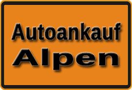 Autoankauf Alpen