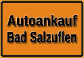 Autoankauf Bad Salzuflen