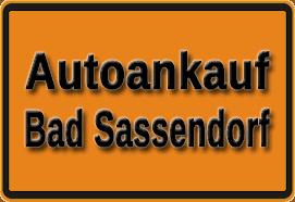 Autoankauf Bad Sassendorf
