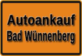 Autoankauf Bad Wünnenberg