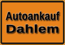 Autoankauf Dahlem
