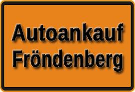 Autoankauf Fröndenberg