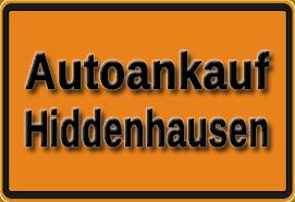 Autoankauf Hiddenhausen