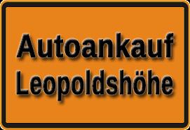 Autoankauf Leopoldshöhe