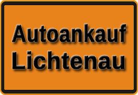 Autoankauf Lichtenau