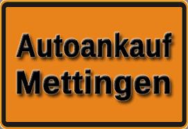 Autoankauf Mettingen